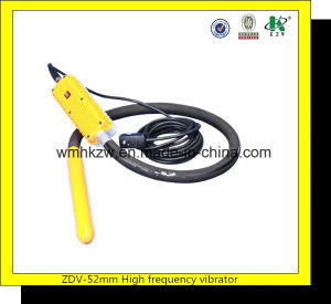 High Frequency Concrete Vibrator 76mm with 12000 Rpm pictures & photos