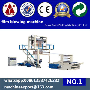 Recycling Granules PE Film Blowing Machine Sj50/800 pictures & photos