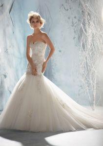 Beaded E Mermaid Fishtail Bridal Wedding Dresses (WMA3048) pictures & photos
