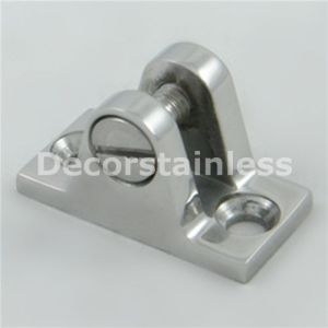 Stainless Steel Angled Deck Hinge With Release Pin pictures & photos