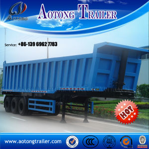 45m3 Dump Trailer 3 Axle Tipper Trailer Truck for Coal pictures & photos