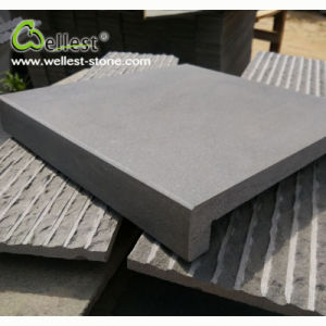 Wholesale Grey Color Natural Lava Stone Pool Coping Paver for Swimming Pool pictures & photos