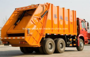 Sinotruk Brand 10 Tons Compactor Garbage Truck pictures & photos