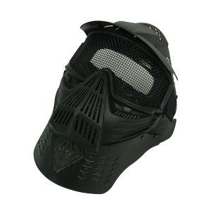 Full Face Airsoft Goggle Mesh Mask w/Neck Protect pictures & photos