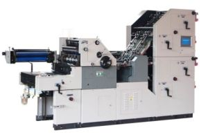 Single Color Bill Printing, Numbering, Perforating and Collating in One Pass Machine (HS47ANP-4PY) pictures & photos