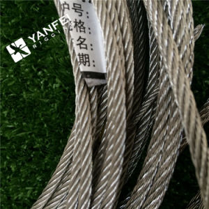 AISI 304/ 316 Stainless Steel Wire Rope with Dia 10mm pictures & photos