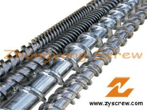 Extruder Screw Barrel Plastic Extrusion Screw Barrel Bimetallic Screw Barrel pictures & photos