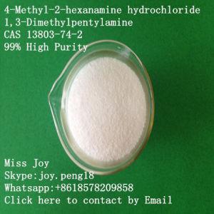 99% High Purity 4-Methyl-2-Hexanamine Hydrochloride (CAS 13803-74-2) 1, 3-Dimethylpentylamine pictures & photos