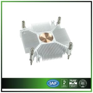 Square Sunflower Heatsink with Copper Base pictures & photos
