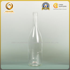 Shandong Supplier Clear Burgundy Glass Wine Empty Bottle (152) pictures & photos