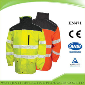 Adult Multicolor Reflective Safety Jacket
