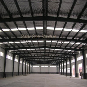 Light Frame Thin-Walled Steel Structure for Workshop with Roof Solar Panel pictures & photos
