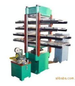 Rubber Tile Vulcanizer Machine Xlb-600*600*4/Hydraulic Press Machine pictures & photos