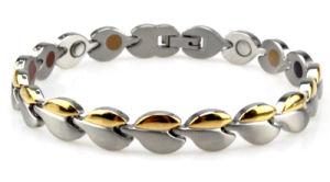 Zircon Diamond Mounted Stainless Steel (Titanium) Energy Bracelet pictures & photos