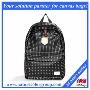 Leather Backpack with Shining Rivet (SBB-015) pictures & photos