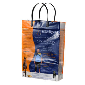 Premium Custom Printed Clip Handle Shopping Bags for Garments (FLC-8105) pictures & photos