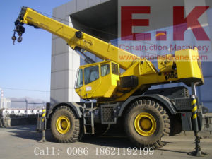 Secondhand 90%New America Grove 55ton Rough Terrain Crane (RT700E) pictures & photos