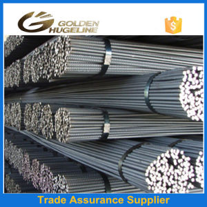 Steel Black Deformed Material Screw Thread Steel Rebar pictures & photos
