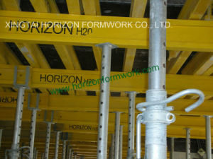 Qualified Reusable Slab Formwork with Timber Beam and Steel Props