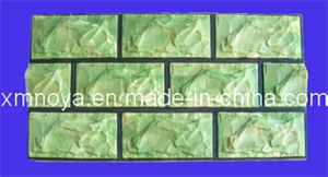 Artificial Fake Light Weight Green PU Culture Stone for Wall pictures & photos