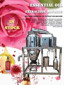 Essential Oil Distiller for Rose Aromatic Sandalwood Lavender Jasmine Absolute pictures & photos