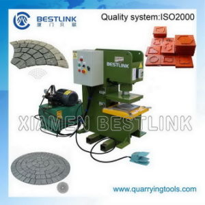 Hydraulic Stone Pressing Machine for Cutting Stone pictures & photos