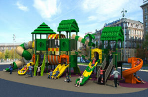 Wood Series Outdoor Playground HD15A-021A pictures & photos