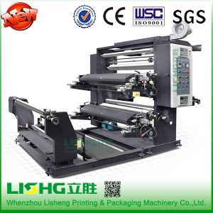 2 Color Big Rewinder Flexo Printing Machine pictures & photos