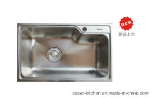 Cacar High Quality Stainless Steel Under Counter Kitchen Sink (CCL-7245B) pictures & photos