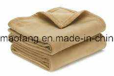 Woven Pure Virgin Wool Hotel Blanket pictures & photos
