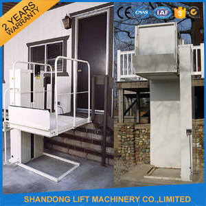 Hote Sale 2m Disabled Home Chair Lift with Ce pictures & photos