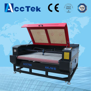 Akj1410 Auto Feed Cloth Laser Cuter for Sale