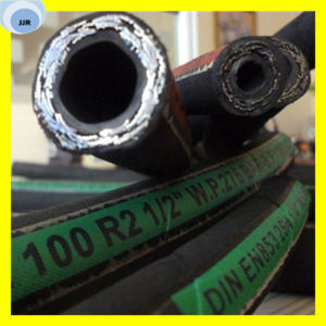 Premium Quality Wire Braided Hydraulic Hose SAE 100 R2 pictures & photos