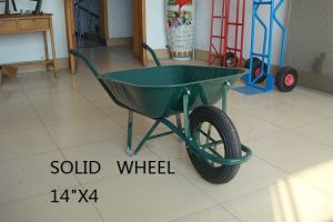 """Wheel Barrow Wb6400 with Solid Wheel 14""""X4 pictures & photos"""