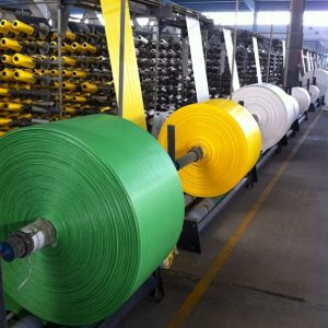 High Strength Multi-Color Tubular PP Woven Fabric Roll for Making Bags pictures & photos