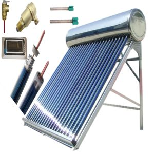 Heat Pipe Solar Water Heater (Stainless Steel Solar Hot Collector) pictures & photos