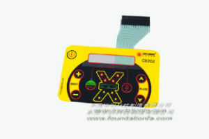 Digital Graphic Overlay Touch Pad Keyboard Panel Membrane Switch pictures & photos