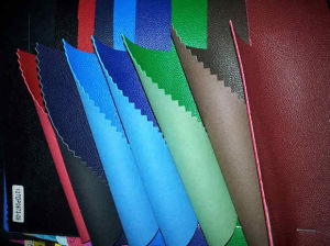 China PU Synthetic Leather to Iranian Market
