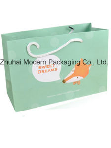 Custom Luxury Paper Bag for Cloth, Gift Packaging and Shopping pictures & photos