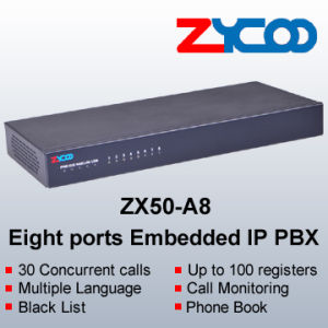 8 FXO/FXS Ports Embedded IP PBX (ZX50-A8)