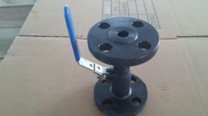 1PC Flanged Ball Valve Asme 300 Lbs Wcb pictures & photos