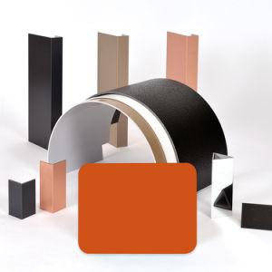 Aluis Interior 6mm Fire-Rated Core Aluminium Composite Panel-0.12mm Aluminium Skin Thickness of Polyester Orange pictures & photos