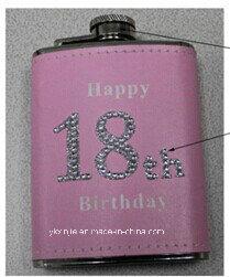 Amaozn Hot Sales Pink Color Ladies 4oz Mini Hip Flask pictures & photos