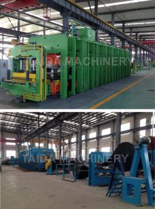 Rubber Conveyor Belt Vulcanizing Press Machine Plant Production Line pictures & photos