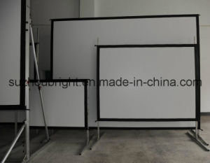 Fast Fold Projection Screen Outdoor Projector Screen with Flight Case pictures & photos
