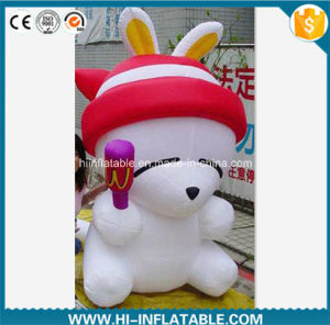 Custom Made Advertising Inflatable Mashimaro Cartoon Character Model for Mall / Kids