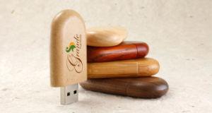 Promotional Wood USB Flash Disk, USB Flash Driver.
