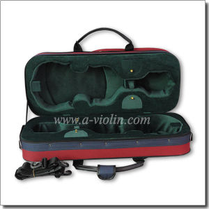 4/4 High Quality Double Violin Case (CSV203H) pictures & photos