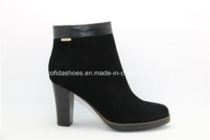 European High Heels Women Leather Shoes for Fashion Lady pictures & photos