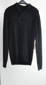 Winter Knit Turtleneck Man Pullover Sweater pictures & photos